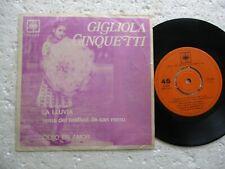 GIGLIOLA CINQUETTI - La Lluvia / SAN REMO - Rare CHILE 45 RPM