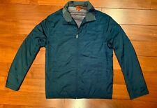 Missoni Men's Navy Blue Waterproof Windbreaker Jacket New Without Tags