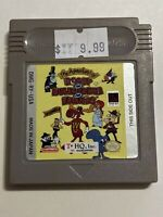 🔥 💯 WORKING NINTENDO GAMEBOY GAME CARTRIDGE - ROCKY AND BULLWINKLE AND FRIENDS