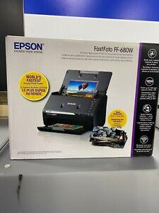 Epson FastFoto FF-680W Photo Scanner (B11B237201) NEW/SEALED