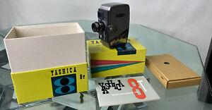 Yashica 8T 8mm Move Camera W/ Original Box Plus Manual