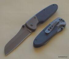 "KA-BAR ""KOMODO"" G10 HANDLE TACTICAL FOLDING POCKET KNIFE WITH POCKET CLIP"
