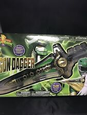 Bandai Legacy Dragon Dagger Mighty Morphin Series Kid Play Gift - Green