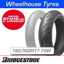 Bridgestone Battlax BT016 Pro 190/50ZR17 (73W) T/L Rear