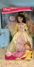 "New Beauty & The Beast Porcelain Belle Doll Brass Key 18"" Special Edition Size"