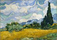 Van Gogh # 20 cm 35x50 Poster Affiche Plakat Cartel Stampa Grafica papiarte