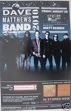 Dave Matthews Band 00004000  2010 San Diego Concert Tour Poster - Jam Band Rock, Bluegrass