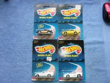 Hot Wheels Speed Fleet P-911 Turbo Nissan ZX Ferrari Test. Mercedes 380 SEL BP's