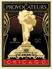 Peoples Climate March - Provocateurs - Gold - Obey Giant - S/N - 2014 - Street