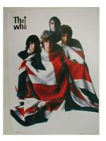 The Who Poster Wrapped in Union Jack Commercial