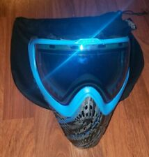 Virtue Vio Extend Thermal Paintball Mask GRAPHIC ICE Blue Goggles Lens MINT L@@K
