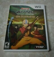 Avatar The Last Airbender The Burning Earth Nintendo Wii 2007 Video Game