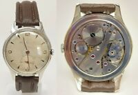 Orologio h moser & cie vintage watch mechanical clock caliber as 1130 rare clock