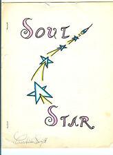 Dr. Mercedies Swift SIGNED SOUL STAR booklet/letter FREE WILL/vtg 80s/good-evil!