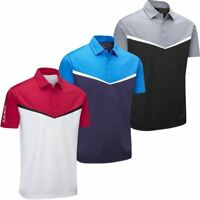 60% OFF STUBURT MENS DRI-BACK SPORT TECH DUAL SHORT SLEEVE GOLF POLO SHIRT