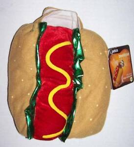 """NWT Petco Bootique Hot Dog Costume Size XXS (7"""" long) Halloween"""