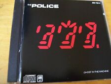 POLICE GHOST IN THE MACHINE  CD MINT--