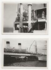 36/462 FOTO SCHIFF DAMPFER MONTE PASROAL 1934