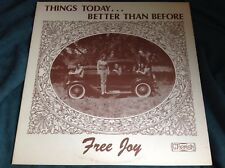 Rare Xian Sunshine Pop Folk LP : Free Joy ~ Things Today...Better Than Before