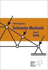 Technische Mechanik 1. Statik von Peter Hagedorn (2003, Taschenbuch)