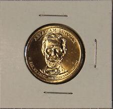 Abraham Lincoln 2010 D Presidential Dollar Coin Uncirculated Denver BU