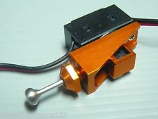 On/Off Switch for Ep Nitro Gas Rc Boat Cnc Alloy w/ O-Ring Water Tight