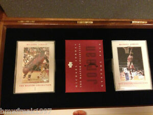1999-2000 MICHAEL JORDAN MASTER COLLECTION UPPER DECK CARD SET #/500 VERY RARE