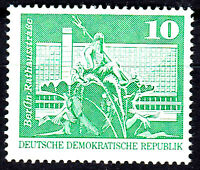 1843 postfrisch DDR Briefmarke Stamp East Germany GDR Year Jahrgang 1973