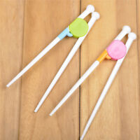 1Pair Cartoon Training Chopsticks Reusable Children Kids Beginner Tableware