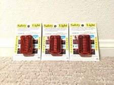 Red Safety Light, Lot of 3 - New