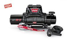 WARN 97035 VR12S 12000lb Winch 12V Hawse Fairlead 90' 3/8 Synthetic Rope