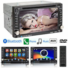 "Newest 6.2"" Touch Screen 2 Din Car Stereo DVD USB Player Bluetooth FM Radio US H"