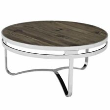 Provision Wood Top Coffee Table, Brown