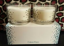 Set of 2 CALVIN KLEIN MEADOW Scented Candles Nest Fragrances Boxed 2.5 Oz x 2