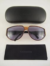 CARRERA SONNENBRILLE 5417 VINTAGE SUNGLASSES MADE IN GERMANY 1980'er JAHRE +ETUI