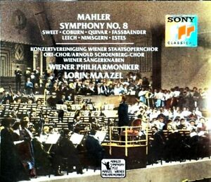 Mahler - Sinfonie Nr. 8, Wiener Pliharmoniker, Maazel - CD, VG