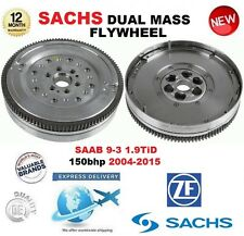 Para Saab 9-3 YS3F 1.9 150bhp 2004-2015 TiD Sachs DMF Doble Masa Rígida Volante & Pernos