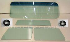 1955 - 1959 CHEVY PICKUP TRUCK WINDSHIELD DOOR BACK GLASS GT GASKETS W/CHROME