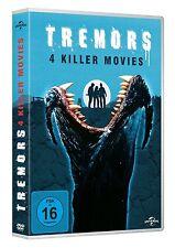 TREMORS 1-4  4 DVD NEU