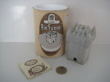More details for rare 1970's vintage larbert pottery castle novelty pie funnel made in scotland