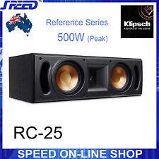 Klipsch Reference Series RC-25 500W Centre Speaker - Black Ash