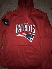 New England Patriots 2019 Nike Circuit Practice Red Hoodie Sweatshirt XXL