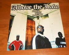 Above the Law Time will Reveal Poster 2-Sided Flat Square Promo 12x12