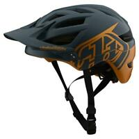 Troy Lee Designs A1 MIPS Classic Helmet Gray / Gold Medium/Large