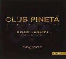 CLUB BOSQUE DE PINOS GOLD DE LUJO (Milano Marittima) Salón, Soul & Funk 3 CD SET