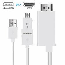 MHL Micro USB zu HDMI 1080P HD TV Kabel Adapter für Samsung Android Handys
