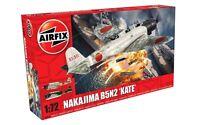 Airfix A04058 Nakajima B5N2 'Kate' Aircraft Plastic Kit 1/72 Scale Free T48 Post