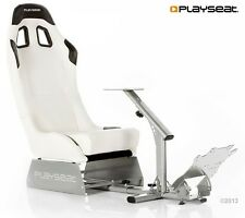Playseat evolution blanc 8717496871473 real siège voiture pour xbox ps pc roues