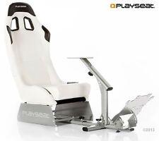 PLAYSEAT Evolution Bianco 8717496871473 reale SEGGIOLINO AUTO PER XBOX PS PC RUOTE