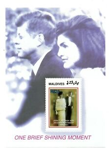 MODERN GEMS - Maldives - JFK & Jacqueline One Brief Shining Moment - S/S - MNH
